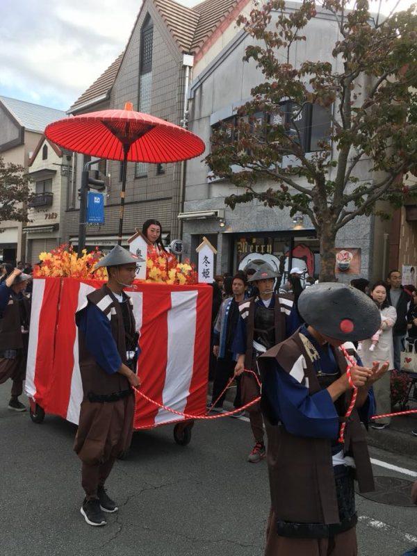 松阪三大祭りの1つ氏郷祭りに出店