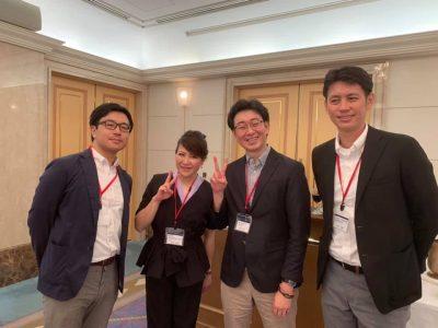 松阪経済人交流会に出席