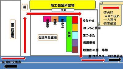 青空マーケット 会場レイアウト
