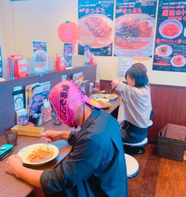 CoCo壱番屋×まつぶたコラボメニュー 魔法のトマとん 大試食会 松阪パワーセンター店