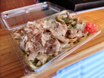 松阪牛豚鶏の焼きそば 松阪肉肉肉祭り まつぶた