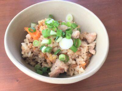 炊き込みご飯 松阪豚すじ入り まつぶたレシピ