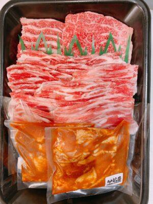 松阪肉肉肉祭り 限定商品 肉三昧焼肉セット まつぶた
